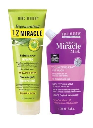 Marc Anthony Marc Anthony 12 Miracle Şampuan 250 Ml+ Volumizing Maske 200 Ml Renksiz